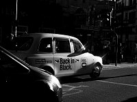 Londra, London, balck and white, back in black